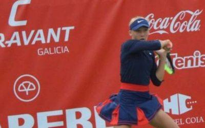 La tenista rusa Mira Andreeva, campeona del Vigo Tennis Open sub-18